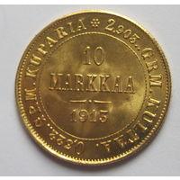 10 марок 1913 Финляндия золото