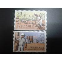 Суринам 1966 автономия Нидерландов местная промышленность полная серия