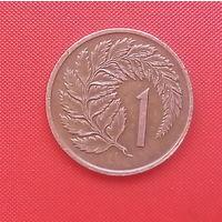 62-10 Новая Зеландия, 1 цент 1975 г.