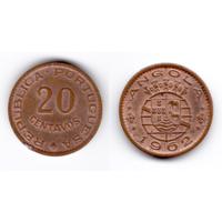 Ангола 20 центаво 1962