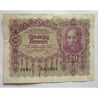 Австрия. 20 крон 1922г.