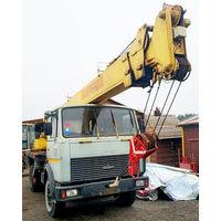 Автокран Машека МАЗ 5337-КС 3579, 15т, 21,3м, 2001 г.