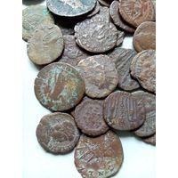 Старые монеты 104 штуки.