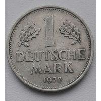 """ФРГ 1 марка 1978 """"G""""_KM#110"""