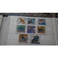 Марки - фауна, динозавры, Вьетнам