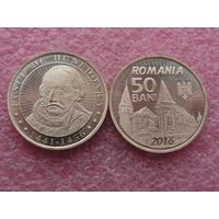 Румыния 50 бани 2016 герцог Хуньяди UNC
