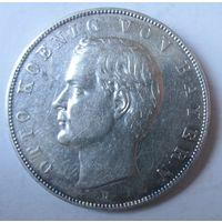 Германия. 3 марки 1910. Бавария. Отто. Серебро. 435