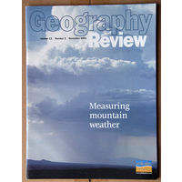 Geography Review (November 2001 Vol. 15 Number 2)
