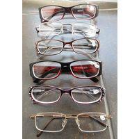 Очки новые, осталось  4 шт. от - 1,5 до - 2,5 Цена за все.