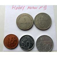 Набор монет - лот 9 /цена за все/