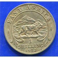 Британская Восточная Африка 1 шиллинг 1952 , Лот 2 , Georg VI