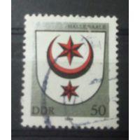 ГДР герб Галлешера 1984