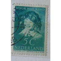 Детский портрет Франса Хальса. Нидерланды. Дата выпуска:1937-12-01
