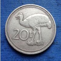 Папуа-Новая Гвинея 20 тоа (тойя) 1975