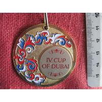 Медаль IV рейтингового Кубка Лиги профессионалов восточного танца Дубай 2018.