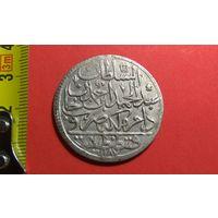 1 золота (30 пара) 1773 (AH1187) 2-й год правления. Константинопольский МД. Турция. Османская империя.  Абдул Хамид I. AG 0.465. Отличная + нечастая! Снижение ЦЕНЫ!