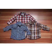 Рубашки на 12-24 месяца