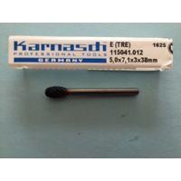 Распродажа  Твердосплавная борфреза фирмы KARNASCH (Германия) хвостовик 3мм