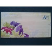 2002 хмк с ом почтовый набор цветы