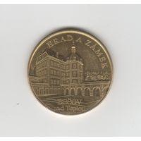 Памятная медаль чешского города Бечов-над-Теплой