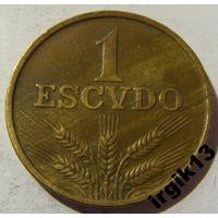 1 эскудо 1973 год Португалия