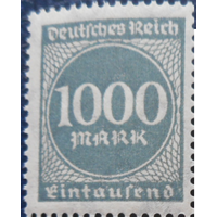 1923 Германия рейх 273**