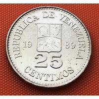 116-13 Венесуэла, 25 сентимо 1989 г.