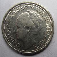 Нидерланды. 10 центов 1934. Серебро. 247