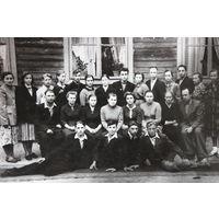Выпускной класс неизвестной школы Дрогичинскрго района
