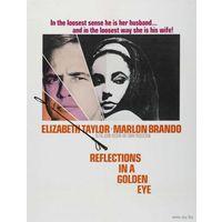 Блики в золотом глазу / Reflections in a Golden Eye (Элизабет Тейлор, Марлон Брандо)  DVD9