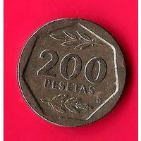 01-19 Испания, 200 песет 1987 г.