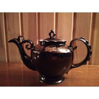 Чайник заварочный, кобальт, Бронницкий фарфоровый завод