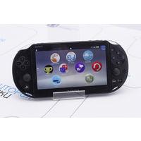 Черная портативная консоль Sony PlayStation Vita Slim PCH-2008. Гарантия