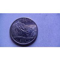 США 25 центов 2006г COLORADO (D)  распродажа