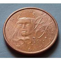 2 евроцента, Франция 2015 г.
