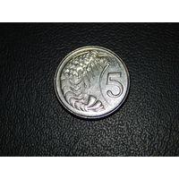 Каймановы острова 5 центов 1999