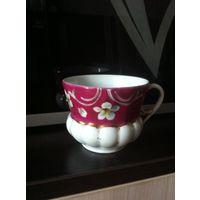 Старинная фарфоравая чашка кузнецов до революционная Россмя до 1917