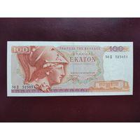Греция 100 драхм 1978 UNC