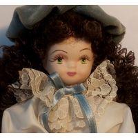Кукла, фарфор, 20 см,ГДР, 70-80-е годы.