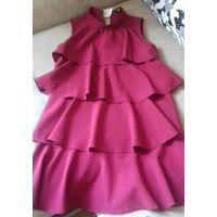 Платье нарядное новое. ..бордовое