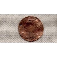 Маврикий 2 цента 1897  /Виктория/Редкая/(DY)