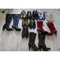 11пар обуви пакетом 39-40размер! шлепанцы в подарок