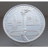 Факел Олимпиады 1980