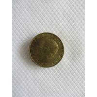 200 лир 1994R Италия КМ# 164 алюминиевая бронза
