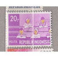 Пятилетний план развития Индонезия 1969 год лот 1012