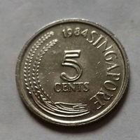 5 центов, Сингапур 1984 г.