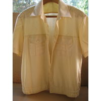 Рубашка белая ВМФ с коротким рукавом