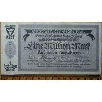 1 миллион марок 1923г. Киль