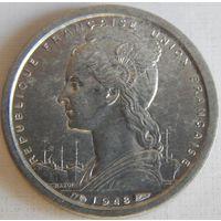 7. Французский Камерун 1 франк 1948 год