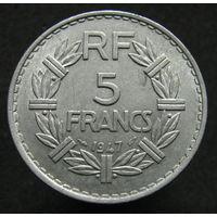 Франция 5 франков 1947